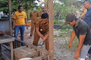 Melalui Bankeu Pemprov Riau, Pemkot Pekanbaru Bangun Rumah Layak Huni