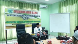 MUI Kabupaten Kampar Gelar Kegiatan Pendidikan Kader Ulama (PKU)