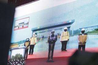 Presiden RI Resmikan Tol Pekanbaru-Dumai Secara Virtual
