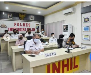 Wabup H.Syamsuddin Uti Rakoor Lintas Sektoral Bersama Kapolri, Bahas Larangan Mudik dan Persiapan PA