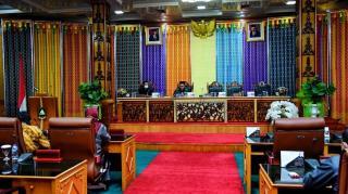 DPRD Bengkalis Gelar Paripurna Penyampaian Propemperda Tahun 2021 dan Perubahan AKD