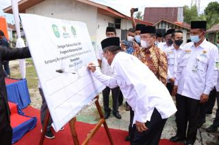 Pertama Di Riau, Program Kampung Zakat Bungaraya di Luncurkan