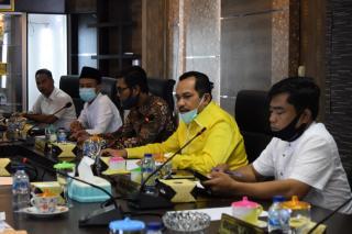 DPRD Meranti Rapat Koordinasi Bersama PT. GCN,  Yang Di Duga Serobot Lahan