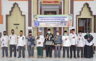 Alfedri Lantik pengurus MUI dan IPHI Kecamatan Lubuk Dalam Dengan IkutiProkes Covid 19
