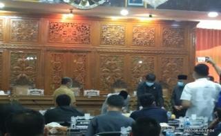 DPRD Kuansing Menyetujui LPJ Tahun Anggaran 2019