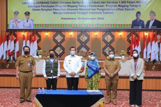 Mentan Akan Berkunjung ke Pekanbaru untuk Sapa Duta Petani Milenial