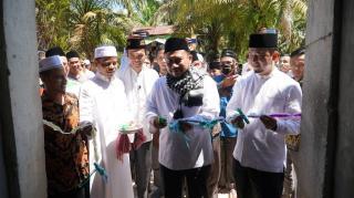 Ponpes Annizham di Resmikan,Bupati Kampar Lakukan Pemancangan Pembangunan Mesjid