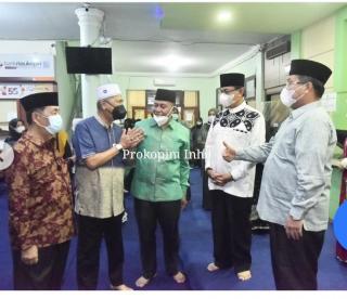 Bupati bersama Wakil Bupati Hadiri Silaturahmi Bersama Kakanwil Kemenag Riau.