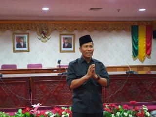 Ketua DPRD Riau Resmi Mengundurkan Diri,  Jika Ada silaf dan Salah Saya Mohon  Maaf