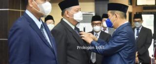 Sebanyak 523 PNS Dilingkungan Pemkab Inhil terima penghargaan Satyalancana Karya Satya