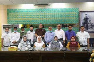 Stuban Bansos, Komisi II DPRD Kampar Kunker ke Dinas Sosial Kabupaten Siak