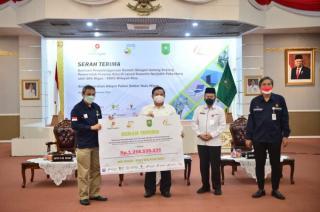 Sekdaprov Riau,Terima Kasih Atas Bantuan SKK Migas Untuk Rumah Oksigen Gotong Royong