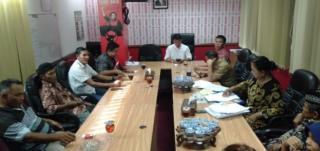 Fraksi PDI. Perjuangan DPRD Riau Merespon Ganti Rugi Lahan Pembangunan Tol Dumai-Pekanbaru