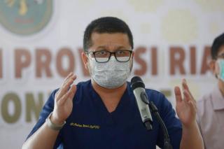 Keterisian Ruang Isolasi COVID-19 Dirumah Sakit di Riau Dibawah 50 Persen