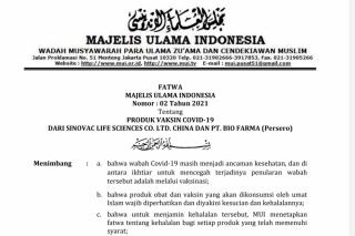 MUI Keluarkan Fatwa Halal Vaksin Covid-19, Kadiskes Riau: Besok Akan Dikirim ke Kabupaten Kota