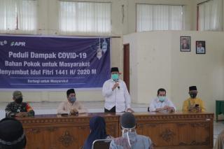 PT RAPP Kembali Salurkan Bantuan Untuk Penanganan Covid-19 di Kabupaten Siak