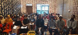 Dedi Yuhara Anggota DPRD Komisi ll Lakukan Sosialisasi  Perda No 14 Tahun 2015,Tentang Kesehatan