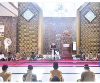 Puasa Ke-15 1442 H Wabup H.Syamsuddin Uti Silaturahmi Dengan Masyarakat Kec.Kateman
