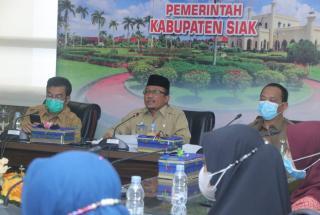 Arfan Usman Terima 9 Mahasiswa IPB Yang Akan Melaksanakan KKNT di Siak