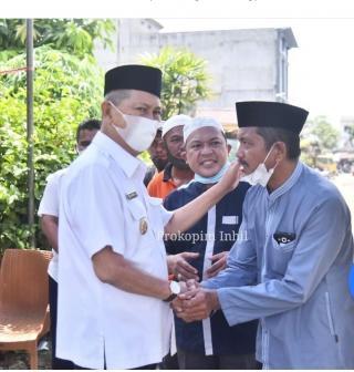 Wabup H.Syamsuddin Uti Lepas Jenazah Kasi Pelayanan RSUD Tengku Sulung Pulau Kijang Ke Tempat Perist