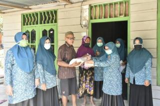 Terkait Penilain PHBS, Muslimawati Catur Berikan Apresiasi Kepada Desa Rimba Makmur