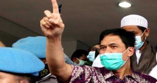 Ada Kerumunan Massa di Acara Presiden Jokowi, Munarman Komentar Begini