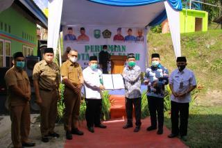 Asisten ll Resmikan MDTA Nurul Falah Kec Minas