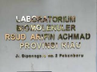 Masyarakat Bisa Langsung Tes PCR di Lab Biomolekuler RSUD Arifin Achmad, GRATIS