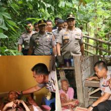 Kapolda Banten, Salurkan Zakat, Infaq dan Sedekah Anggota Polri