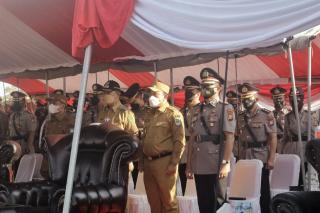 Wakil Bupati Siak Husni Merza Hadiri Upacara Penutupan Pendidikan Pembentukan Bintara anggota Polri