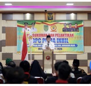 PUMA Nusantara Inhil di Kukuhkan,Ini Pesan Bupati HM.Wardan