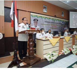 Bupati Inhil Buka FKP Rancangan Awal Perubahan RPJMD
