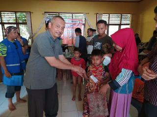 TLCI Chapter 2 Riau Peduli, Gelar Baksos Dipelosok Kampar Kiri.
