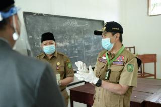 Pondok Pesantren Gontor Putri 7 Telah Melaksanakan Protokol Kesehatan