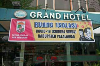 Hotel Isolasi Covid-19 di Pelalawan Sudah Tampung 4 Pasien OTG