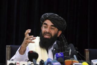 Gelar Konpers Pertama, Taliban Janji Hormati Hak Perempuan Menurut Syariah