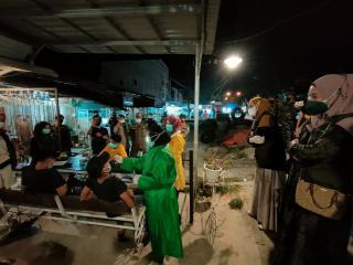 Terjaring Razia Prokes, Satgas Covid-19 Kabupaten Pelalawan Lakukan Swab Antigen