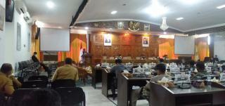 DPRD Kuansing Gelar Sidang Paripurna Dengan Agenda Pandangan Umum Fraksi Terhadap Susunan Perangkat