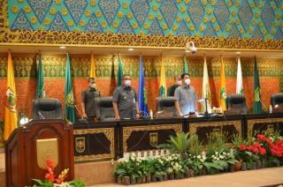 DPRD Riau Gelar Rapat Paripurna  Penutupan Masa Persidangan II