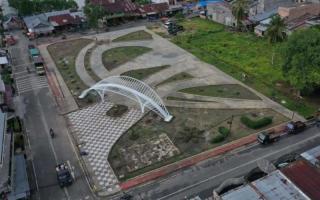Anggota DPRD Siak Samsurizal Berharap Taman Kota Sungai Apit Dilanjutkan