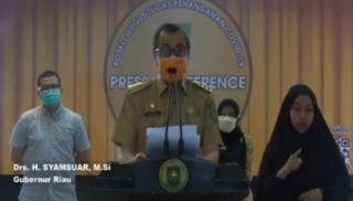 106 ASN Terpapar Covid-19, Pemrov Riau Terapkan WFH