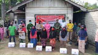 Kapolres didampingi Bupati Kuansing dan Forkopimda laksanakan Pembagian Bantuan Sosial