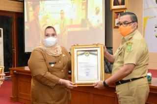 Kabupaten Bengkalis Terima Penghargaan Pembangunan