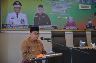 Wagubri Sampaikan Upaya Pemprov Riau Tekan Kasus Covid-19