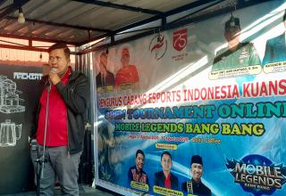 PC PENGCAB ESI  Kunsing Resmi Buka Turnamen mobile legends