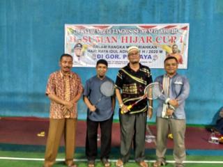 Pb. Jaya Kenegerian Kopah Lakukan turnament bulutangkis.