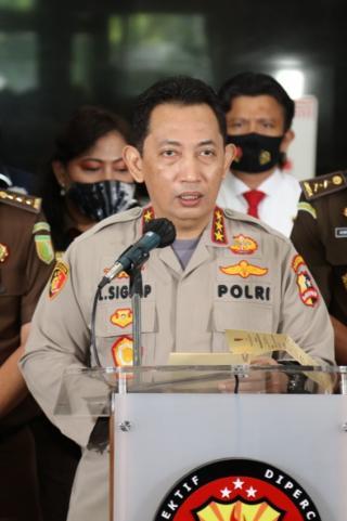 Calon Tunggal Kapolri Pilihan Jokowi Listyo Sigit Prabowo