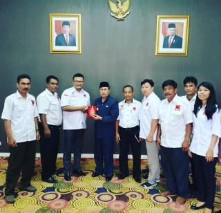 DPD Projo Riau Silaturahmi Dengan Gubernur Riau