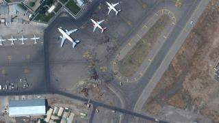 Sejumlah Mayat Ditemukan di Ruang Roda Pesawat AS yang Terbang dari Kabul