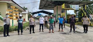 Kapolres Kuansing Patroli ke sejumlah Perusahaan yang ada di Wilayah Kab.Kuansing